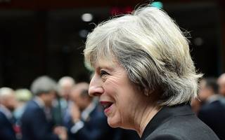 """May calls for a """"new partnership"""" with industry on mental health"""
