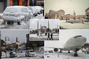 deadly arctic blast snow storm that killed dozens across europe will hit the uk within days