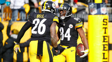Leaning on Roethlisberger, Brown and Bell will be crucial for Steelers' playoff run