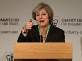 ignoring the concerns of voters helped far-right rise, says theresa may as she attacks blair and cameron