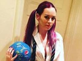 playdate row mother who billed friend £325 for her three-year-old's scuffed shoes dressed as paedophile footballer adam johnson's victim for hallowe'en and tweeted it to his ex