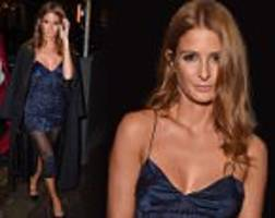 millie mackintosh steps out for london fashion week men's closing night dinner