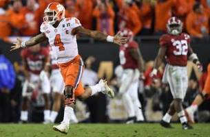 The Clemson Tigers Stun the Alabama Crimson Tide in College Football Playoff National Championship