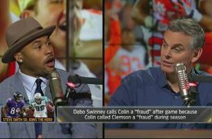 steve smith takes on colin for his fraud comments and more   the herd (full interview)