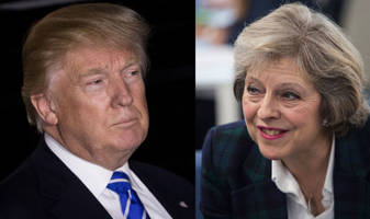 Bridging The Gap: Theresa May To Meet Donald Trump