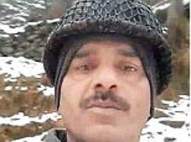Jawan who exposed 'deplorable' meal quality on duty with Border Security Force 'is removed from headquarters and given duties as a PLUMBER'