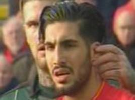 Liverpool FC star Emre Can given a 'wet willy' during FA Cup draw with Plymouth