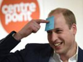 prince william visits centrepoint homeless hostel
