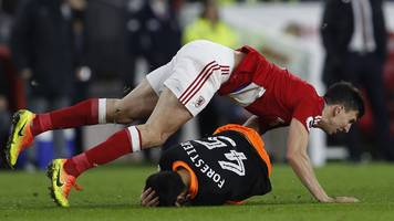 daniel ayala: middlesbrough defender fails in appeal against fa cup red card
