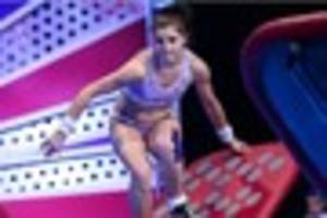 derby woman laura hudson competes on ninja warrior uk but has...