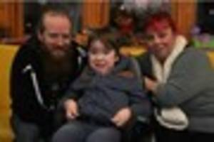Youngster with rare life-threatening disease continues to defy...