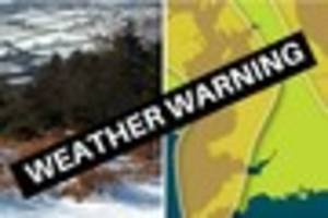 WEATHER: Yellow warning for snow and snow is likely to settle in...