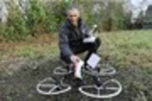 Ashtead man becomes first to fly commercial drone in Heathrow air...
