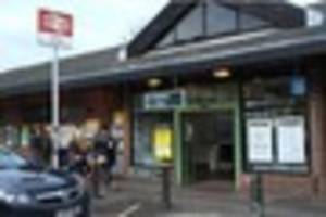 Road closed near Oxted train station after crash involving car,...
