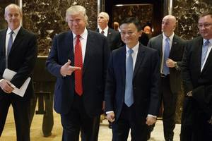 Alibaba's Jack Ma Seems To Be One Thing Trump Likes About China