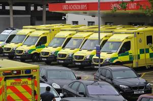 a&e problems in wales are just as severe as england where red cross has declared a 'humanitarian crisis'