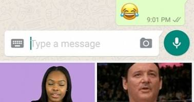WhatsApp Adds Giphy Search and Raises Media Sharing Limit to 30