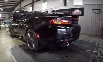 750 hp hennessey 2017 camaro zl1 sounds like a freaking supercharged tornado