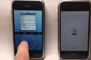 New video shows Apple designers' competing early iOS designs