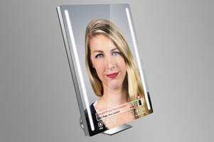 this augmented reality mirror lets you try on makeup before you buy