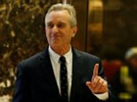trump puts rfk jr in charge of new commission on vaccine safety