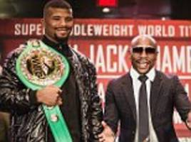 Badou Jack is Floyd Mayweather's protege who is out for James DeGale