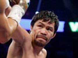 Kell Brook and Manny Pacquiao in talks for fight in Britain this October as part of Filipino's farewell world tour