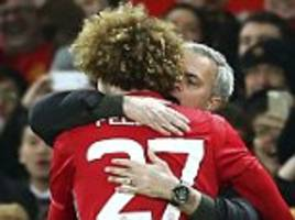 Marouane Fellaini is loved by Jose Mourinho for his fierce training, quick wit and team spirit... the Manchester United star has silenced his critics