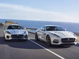 Jaguar F-Type gets tweaked looks, more tech and new model variants