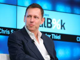 Peter Thiel says the age of Apple is over (AAPL)