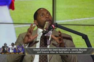 ray lewis explains the biggest influences on his life and career   the herd