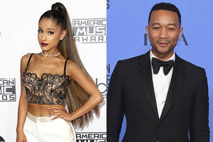 ariana grande, john legend to re-record 'beauty and the beast' title song for live-action adaptation