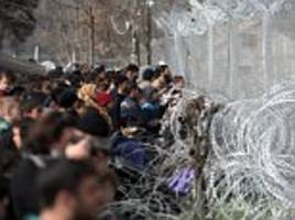 Number of asylum seekers arriving in Germany slumped by two thirds last year following the closure of the Balkan route