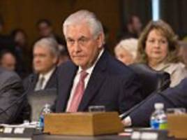 Rex Tillerson says election hacking report indicates Russia was responsible