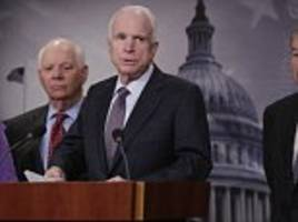 Trump's nemesis John McCain kicked off 'Kremlin memo' scandal by handing dossier to FBI