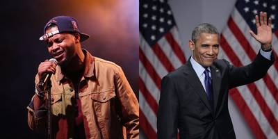 BJ the Chicago Kid Will Sing the National Anthem for President Obama's Farewell Address