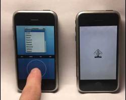 This is the iPod-like iPhone prototype that lost to the iOS variant we know