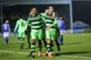 forest green have to settle for point at eastleigh