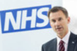 department of health: 'it's not health secretary's place to...