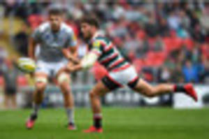 Leicester Tigers search for No.10 replacement as Owen Williams...