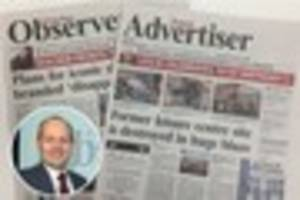 Exciting launch as Great Barr Observer and Walsall Advertiser...