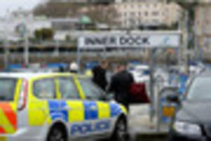 latest: man found dead in torquay harbour was chef staying on...