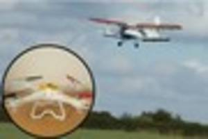 Drone collision with aircraft in Gloucestershire could have...