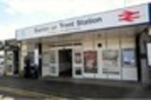 Two men arrested at Burton Railway Station on suspicion of theft...