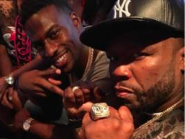 """50 cent found a lil wayne replacement for kodak black fight: """"i done started some s**t"""" [video]"""