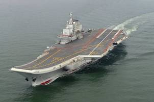 China Sends Aircraft Carrier Group Through Taiwan Strait