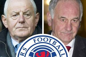 former rangers boss walter smith reveals his ibrox regrets and how he is embarrassed by joining charles green's board