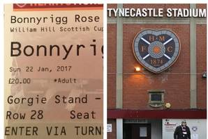 scottish cup tickets bungle as briefs for historic bonnyrigg rose vs hibs clash are sent out bearing wrong date