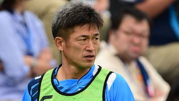 Kazuyoshi Miura: Yokohama striker signs contract to play into his 50s