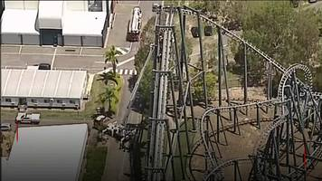 Rescue bid as twenty trapped on Australia roller coaster
